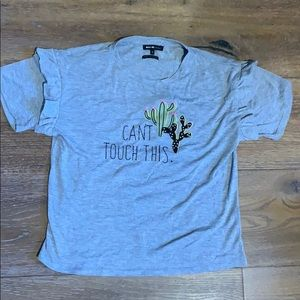 "Miss Me ""Can't Touch This"" Cactus shirt"